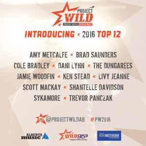 WILD 953 and Alberta Music Announce the 2016 Top 12